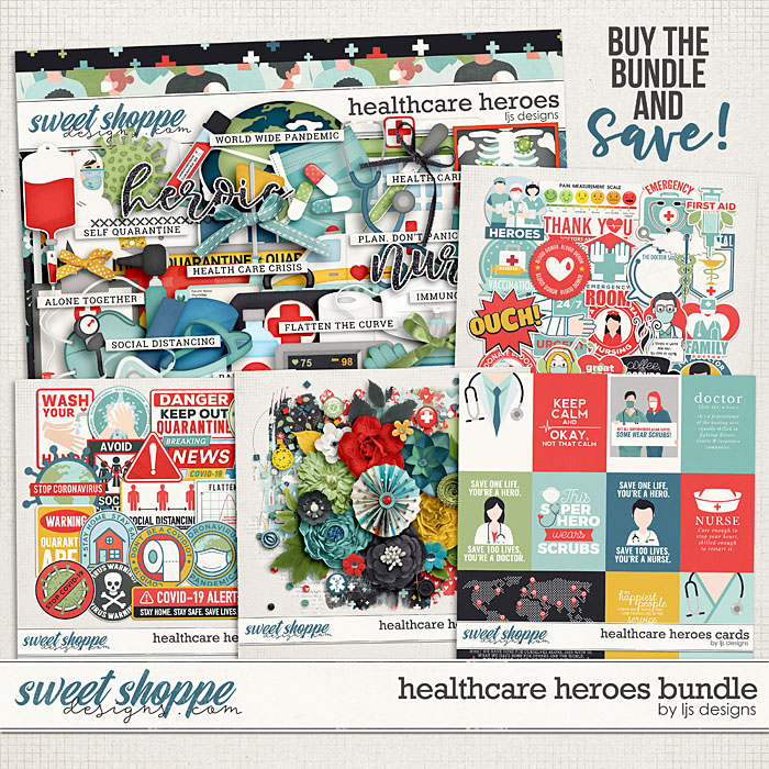 Healthcare Heroes Bundle by LJS Designs