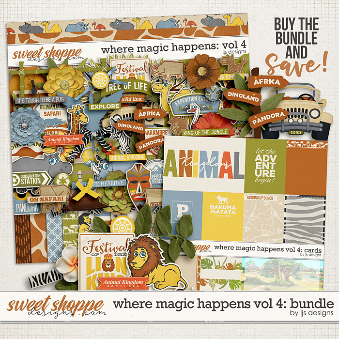 Where Magic Happens Vol. 4: Bundle by LJS Designs