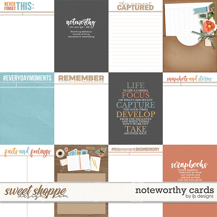 Noteworthy Cards by LJS Designs