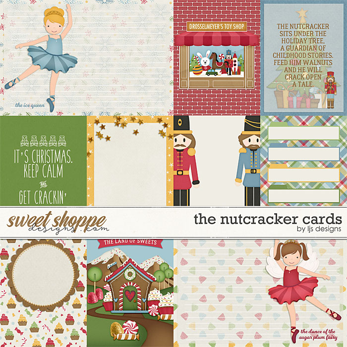 The Nutcracker Cards by LJS Designs