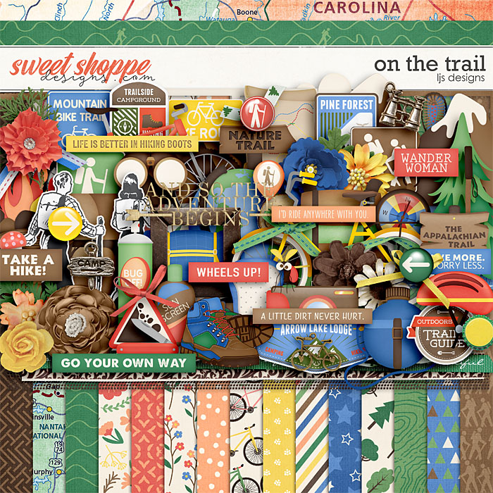 On The Trail by LJS Designs