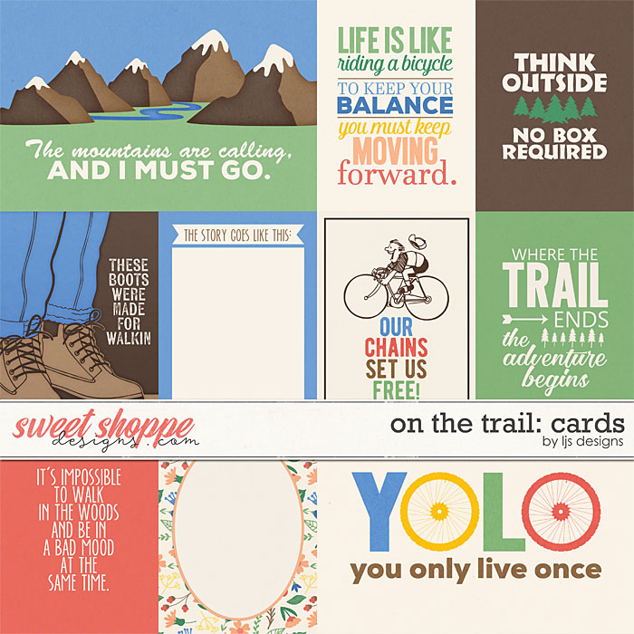 On The Trail: Cards by LJS Designs