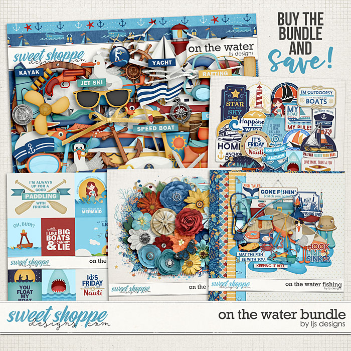 On The Water Bundle by LJS Designs