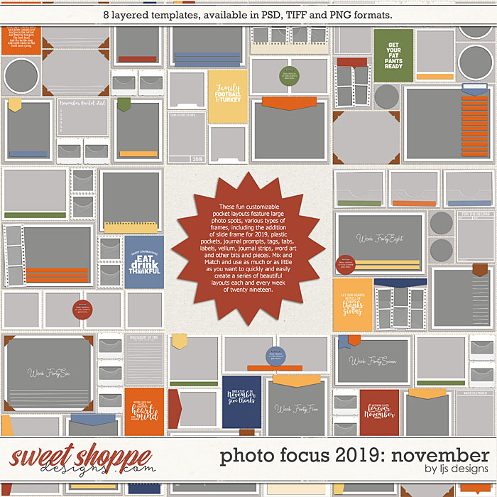 Photo Focus 2019: November by LJS Designs