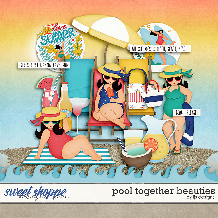 Pool Together Beauties by LJS Designs