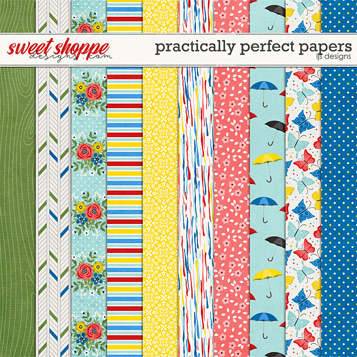 Practically Perfect Papers by LJS Designs