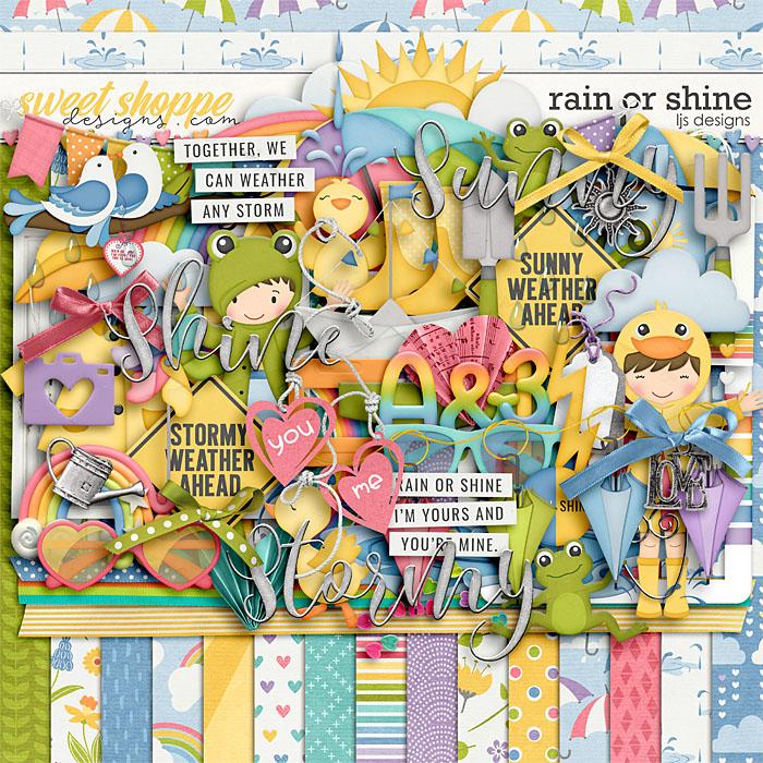 Rain Or Shine by LJS Designs