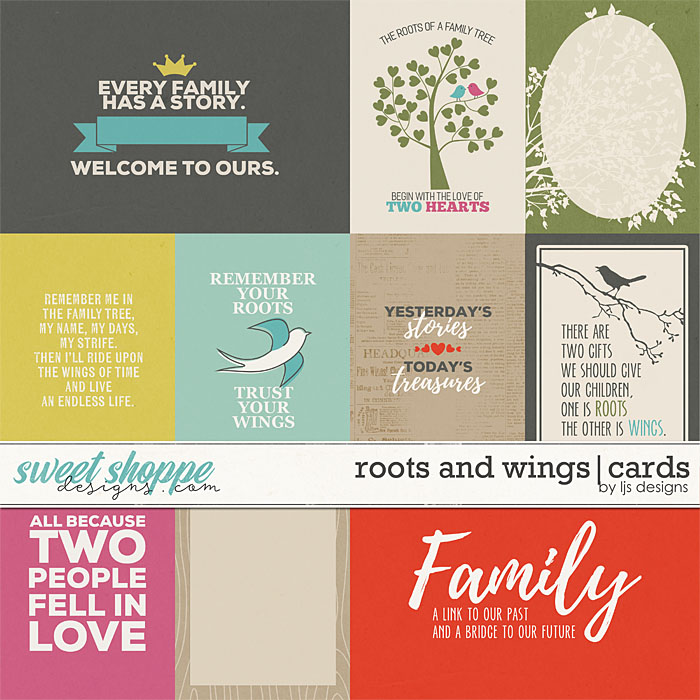 Roots and Wings | Cards by LJS Designs