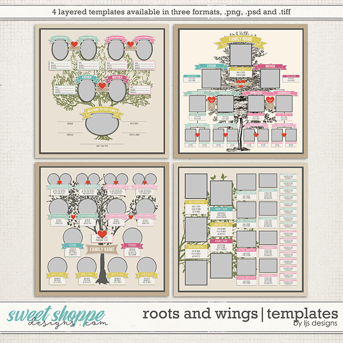 Roots and Wings | Templates by LJS Designs