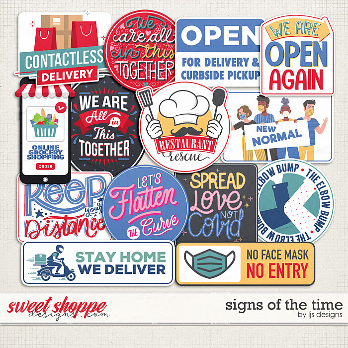 Signs Of The Time by LJS Designs