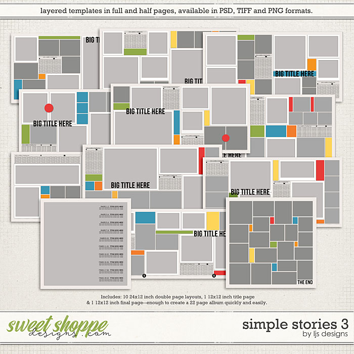Simple Stories 3 by LJS Designs