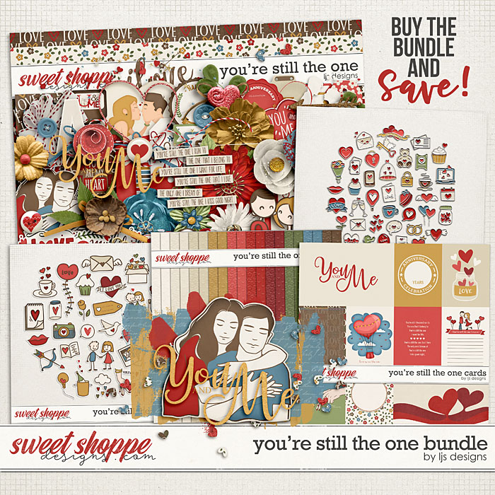 You're Still The One Bundle by LJS Designs