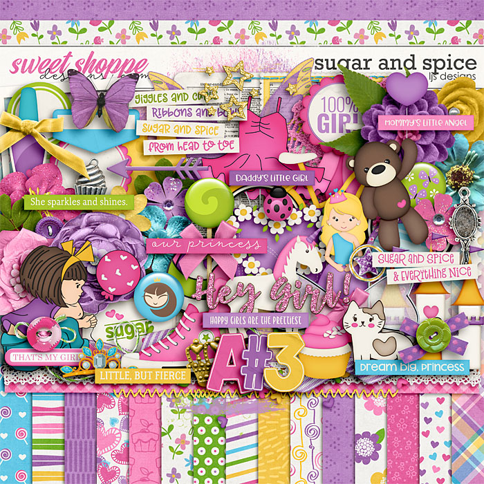 Sugar and Spice by LJS Designs