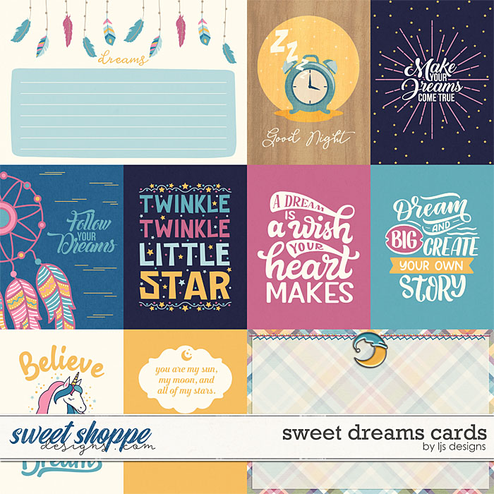 Sweet Dreams Cards by LJS Designs