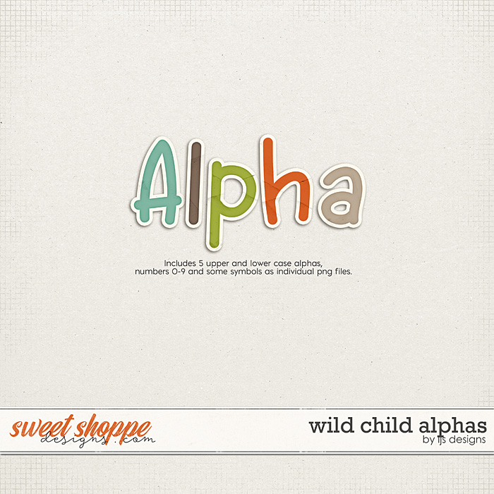 Wild Child Alphas by LJS Designs