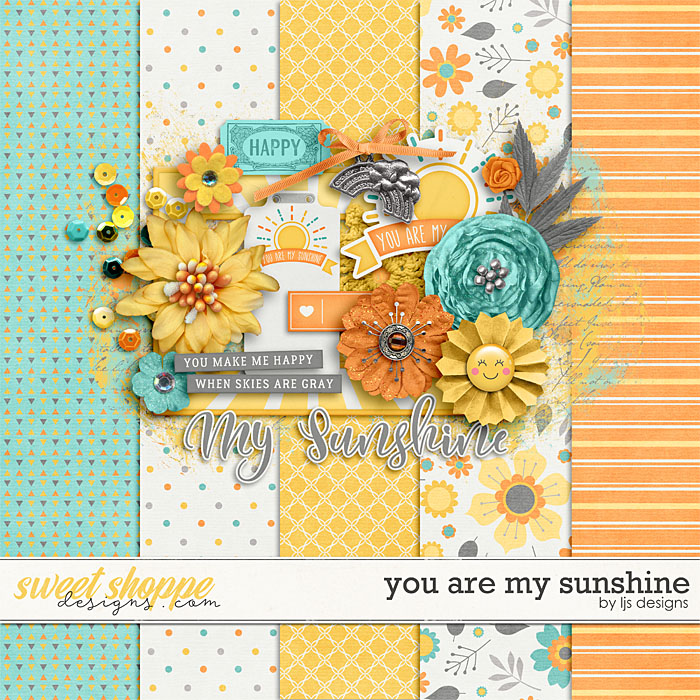 You Are My Sunshine Freebie by LJS Designs