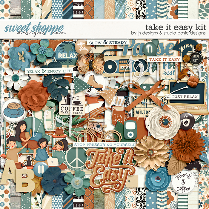 Take It Easy Kit by LJS Designs and Studio Basic Designs