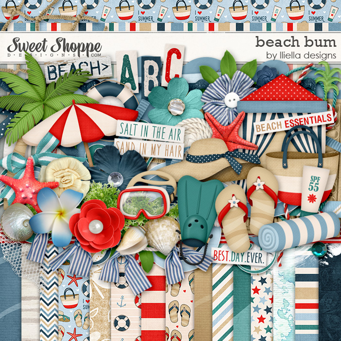 Beach Bum by lliella designs