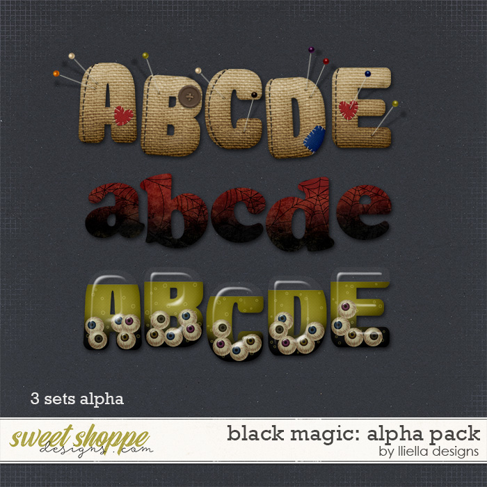 Black Magic: Alpha Pack by lliella designs