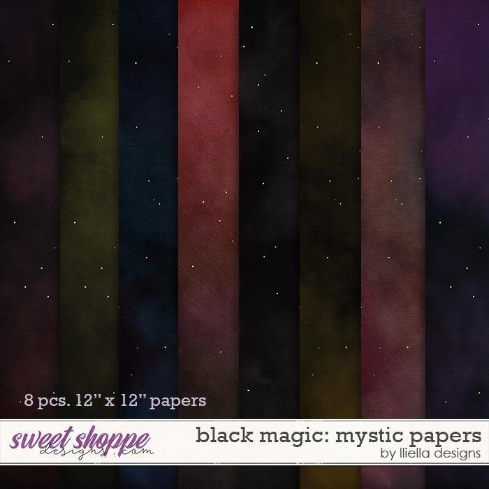 Black Magic: Mystic Papers by lliella designs