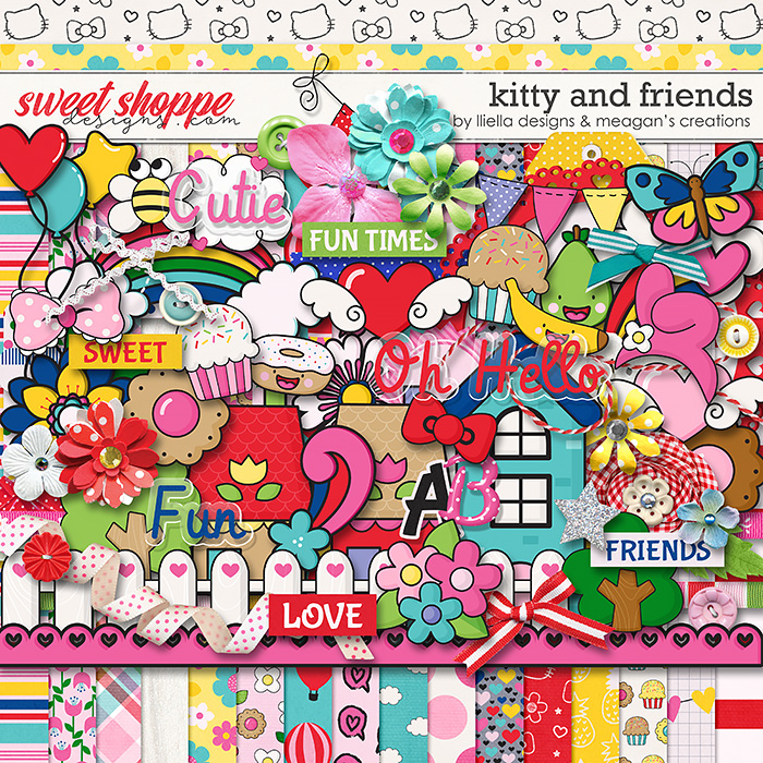 Kitty and Friends by Lliella Designs & Meagan's Creations