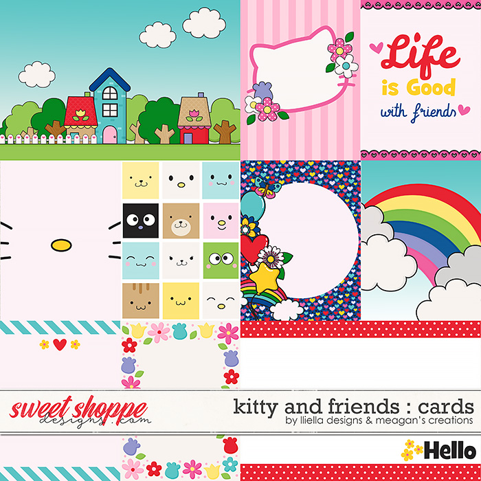 Kitty and Friends : Cards by Lliella Designs & Meagan's Creations