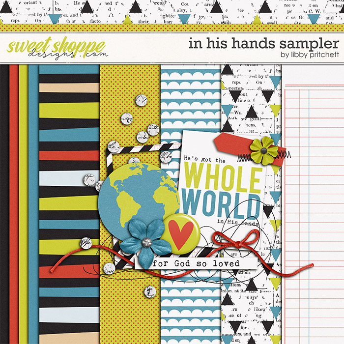 In His Hands Sampler by Libby Pritchett