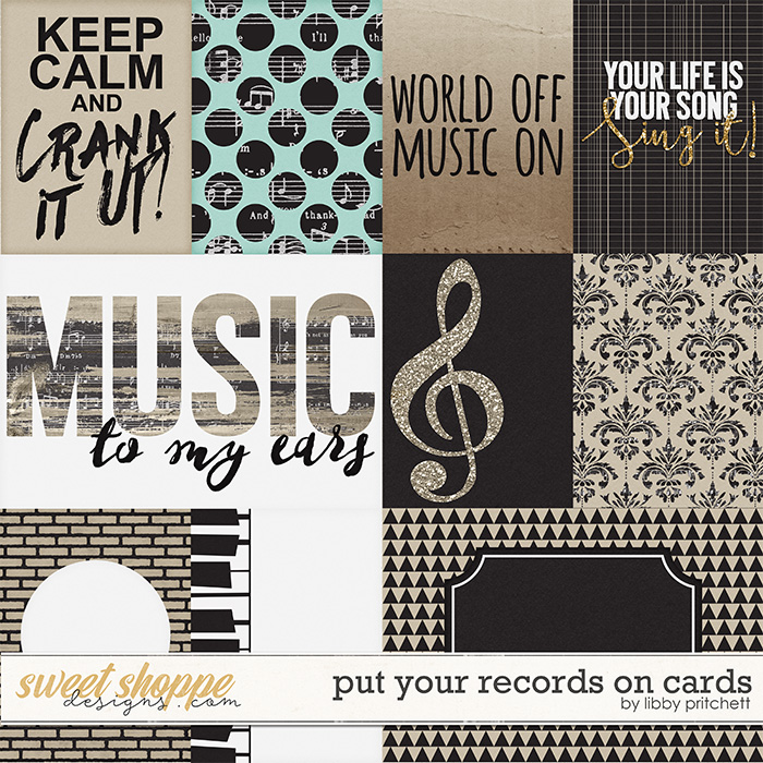 Put Your Records On Cards by Libby Pritchett
