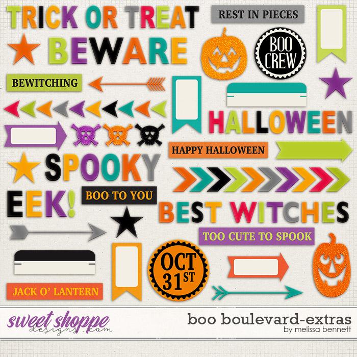 Boo Boulevard-Extras by Melissa Bennett