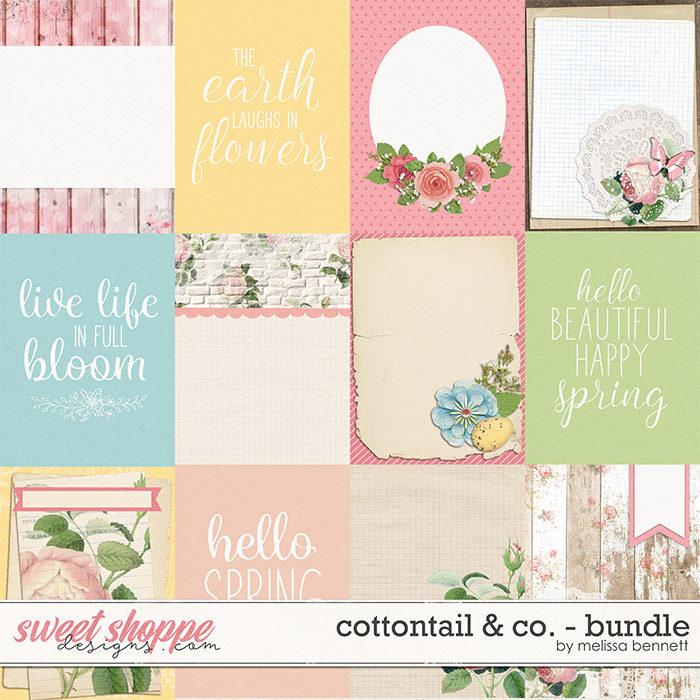 Cottontail & Co.-Cards by Melissa Bennett