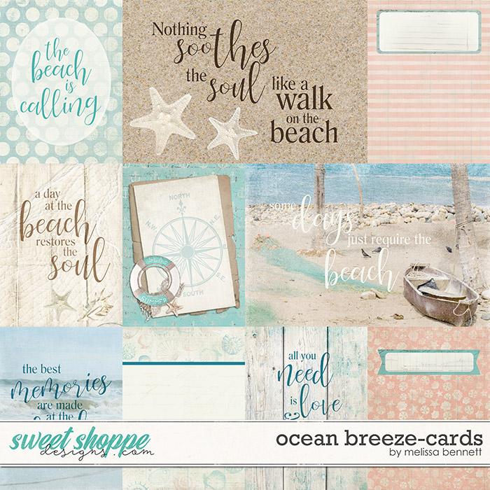 Ocean Breeze-Cards by Melissa Bennett