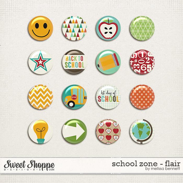 School Zone - Flair by Melissa Bennett