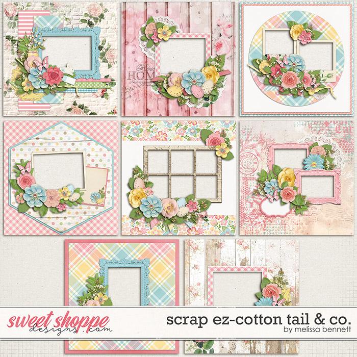 Scrap EZ-Cottontail & Co. by Melissa Bennett