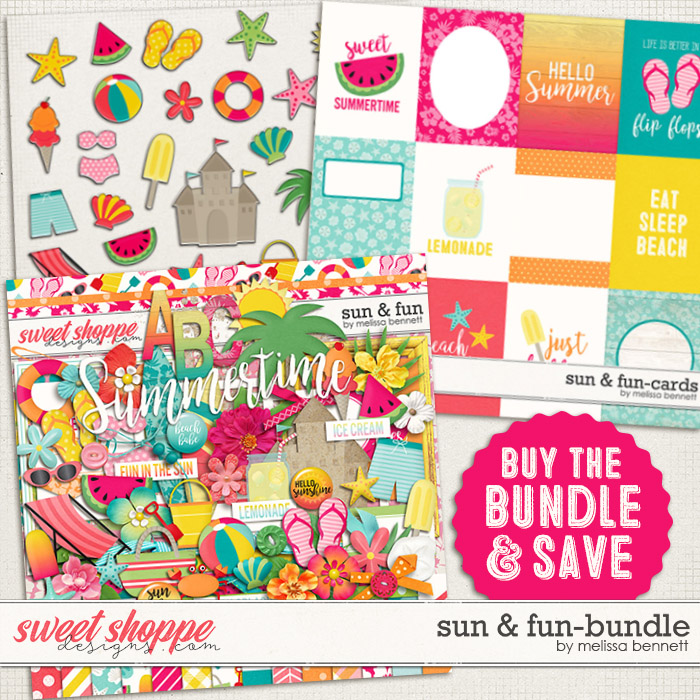 Sun & Fun-Bundle by Melissa Bennett