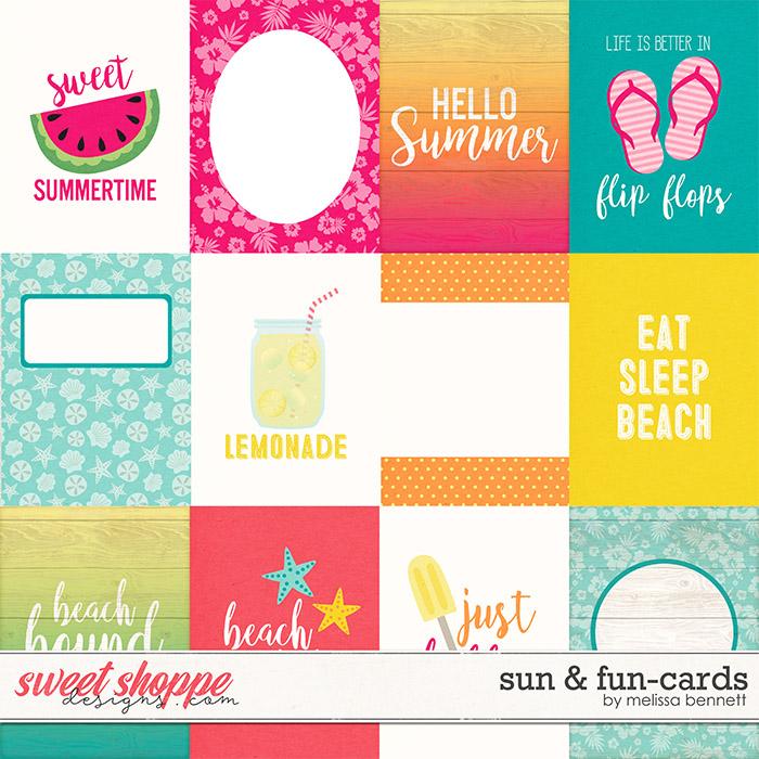 Sun & Fun-Cards by Melissa Bennett