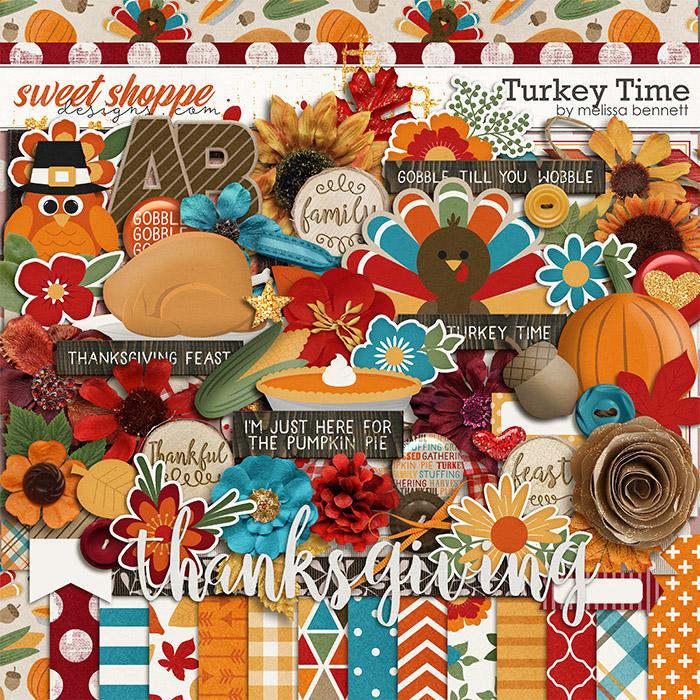 Turkey Time by Melissa Bennett