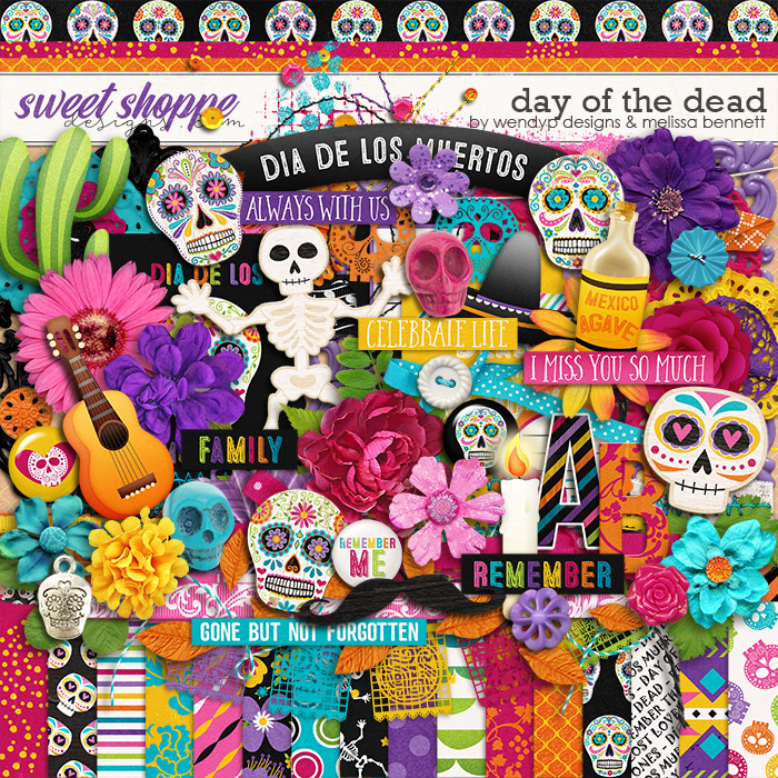 Day of the dead by Melissa Bennet & WendyP Designs