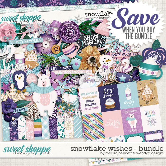 Snowflake Wishes Bundle by WendyP Designs & Melissa Bennett