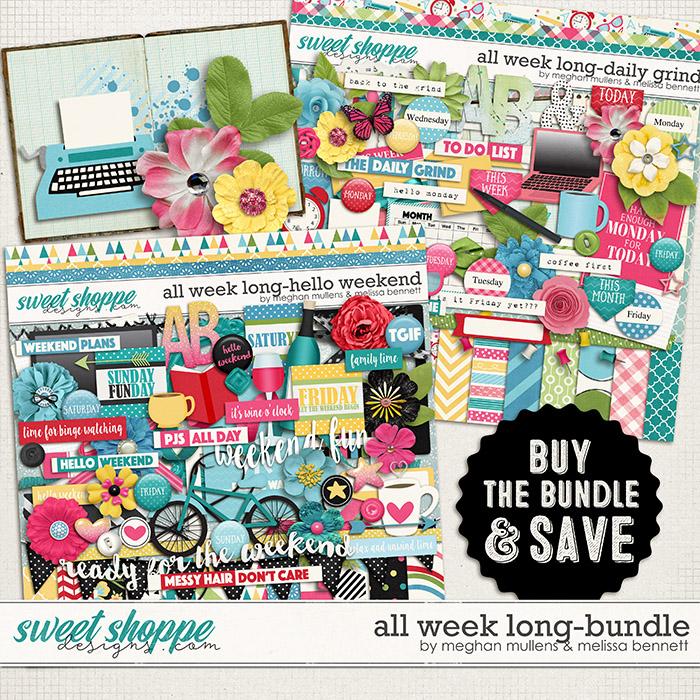 All Week Long - Bundle by Melissa Bennett and Meghan Mullens