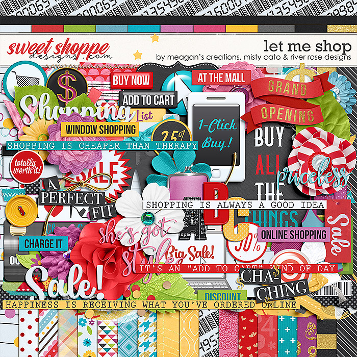 Let Me Shop by River Rose Designs, Meagan's Creations and Misty Cato