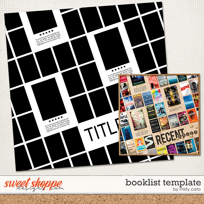 Book List Template by Misty Cato