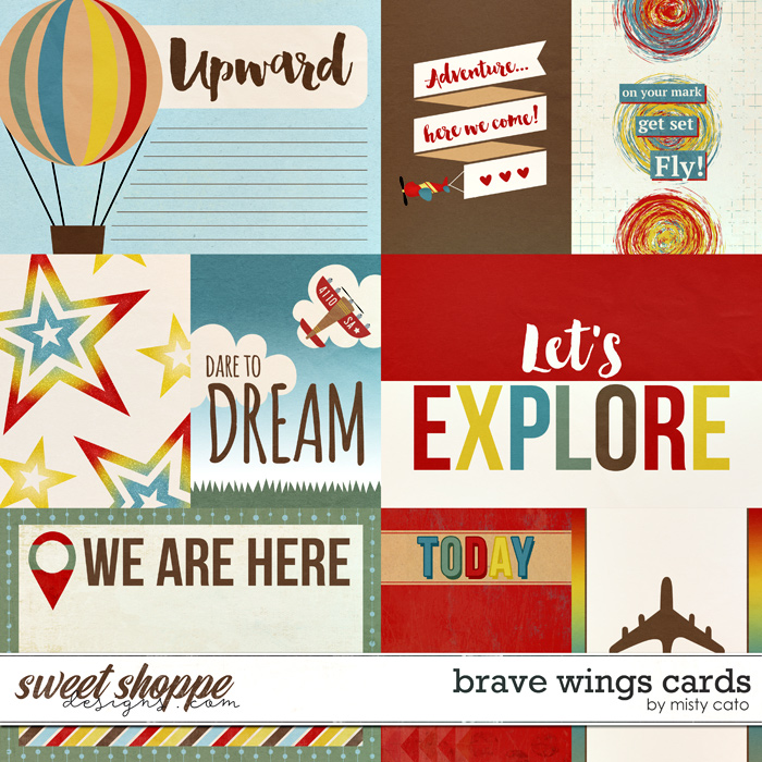Brave Wings Cards by Misty Cato