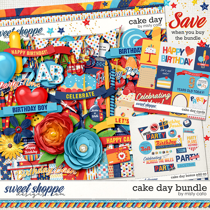 Cake Day Bundle by Misty Cato