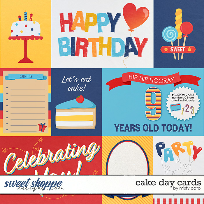 Cake Day Cards by Misty Cato