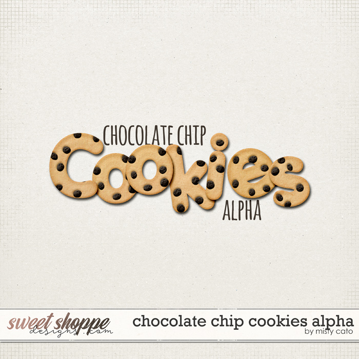 Chocolate Chip Cookies Alpha by Misty Cato