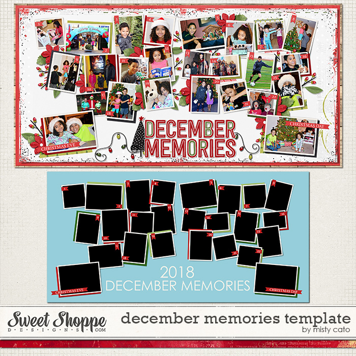 December Memories Template by Misty Cato