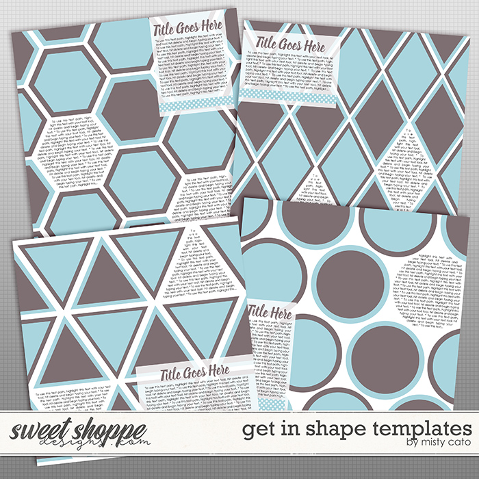 Get in Shape Templates by Misty Cato