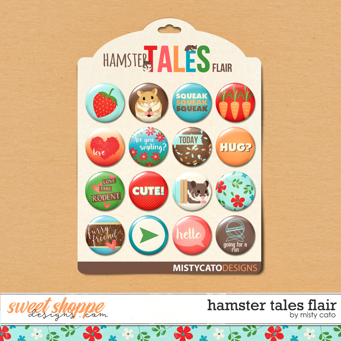 Hamster Tales Flair by Misty Cato