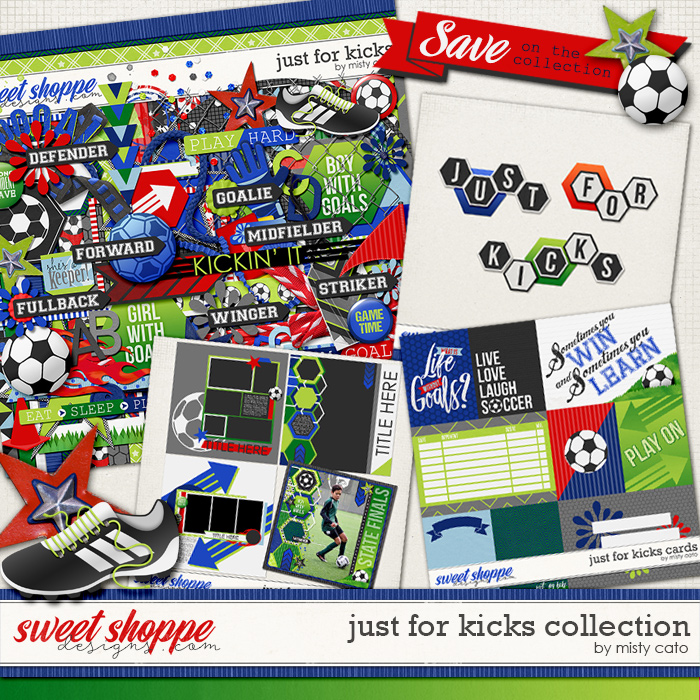 Just for Kicks Collection by Misty Cato