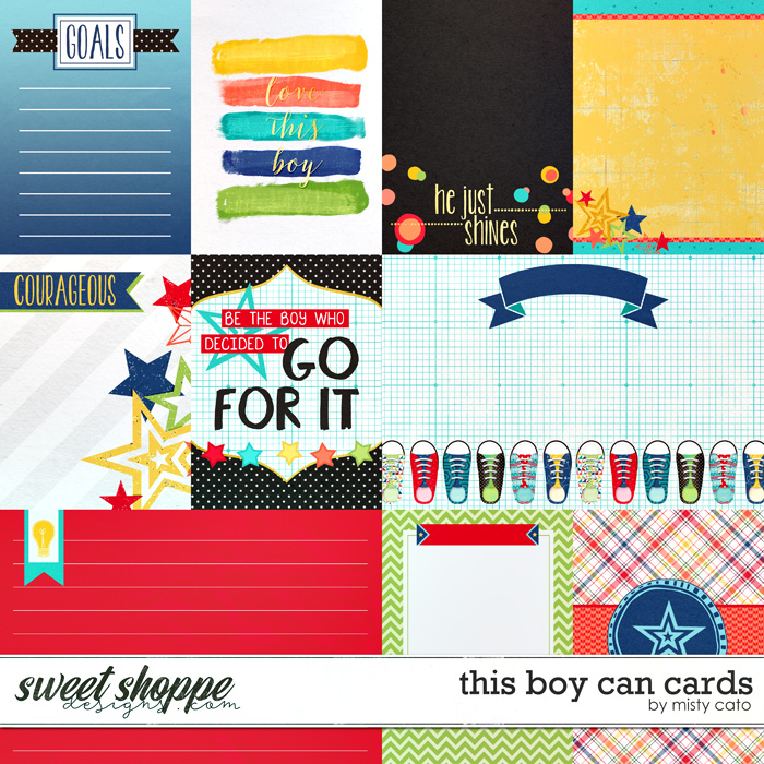 This Boy Can Cards by Misty Cato